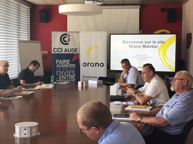 club industrie orano narbonne reunion