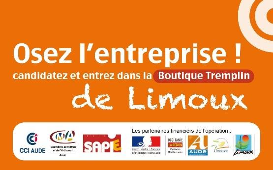 2eme appel candidature osez entreprise Limoux 2018