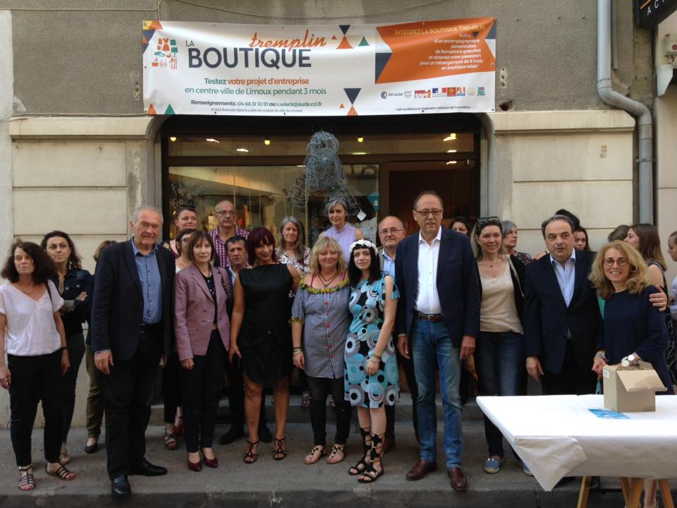inauguration boutique tremplin