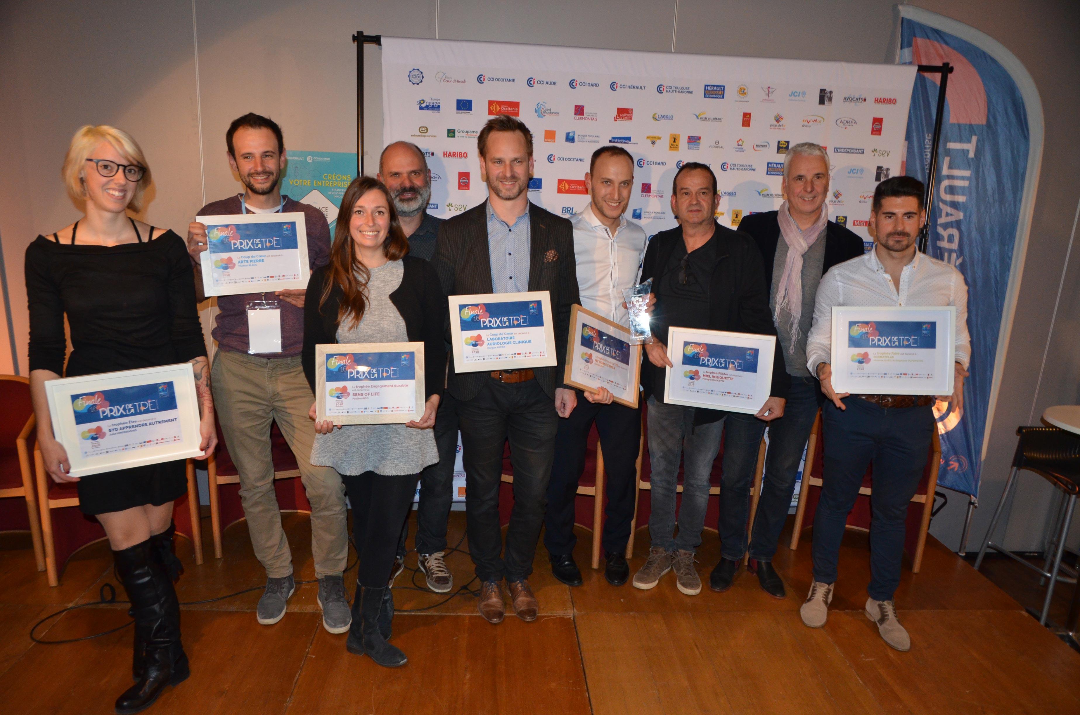 lauréats prix tpe 2018