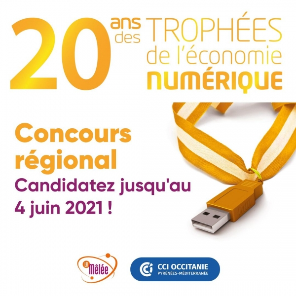 2021 Trophées de l'économie numerique visuel entier
