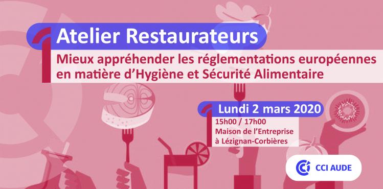 2020-03-02 Atelier Restaurateurs HACCP