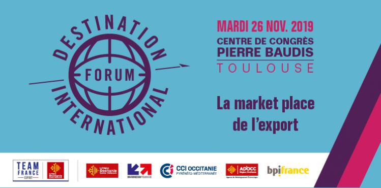 Forum Destination International 26/11/2019