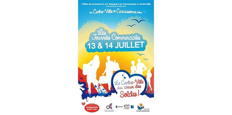 journees commerciales carcassonne juillet 2019