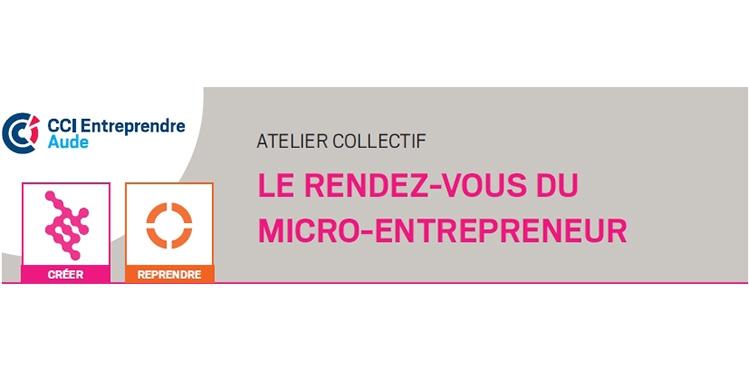 atelier collectif le rendez-vous du micro-entrepreneur