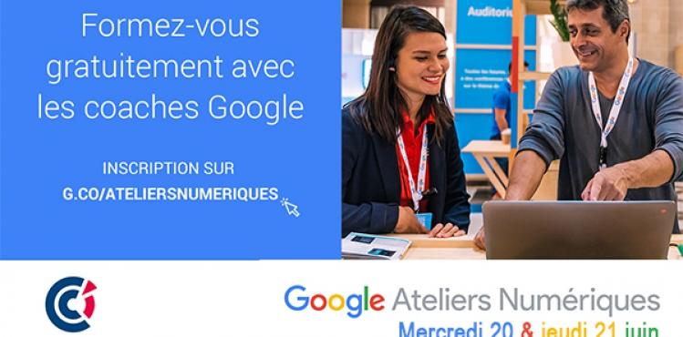 ateliers numériques google juin 2018 carcassonne narbonne