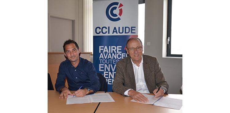 convention de partenariat Syndicat Buralistes et CCI Aude
