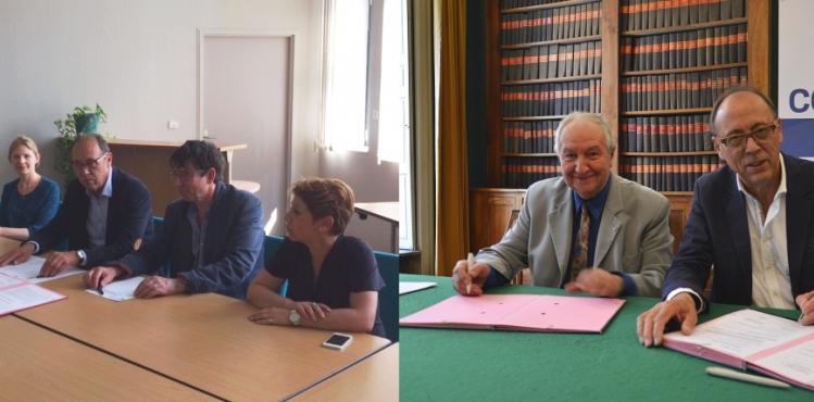 convention partenariat cci Aude anciens juges tribunal commerce Carcassonne Narbonne