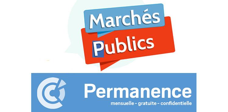 Permanences Marches Publics
