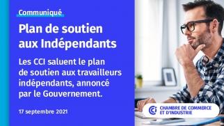 2021 Plan de soutien aux indépendants visuel