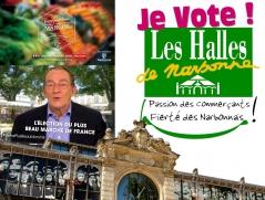 banniere halles narbonne concours plus beau marché france tf1