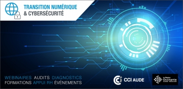 bannière cybersécurité transition numérique cci aude occitanie