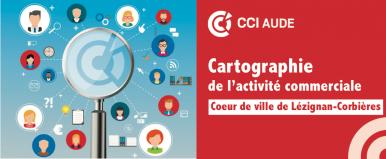 cartographie centre ville Lézignan Corbières juin 2018