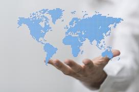 carte monde main international export
