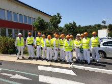 club industrie orano narbonne groupe exterieur usine