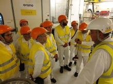 club industrie orano narbonne groupe interieur usine